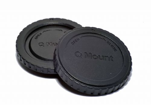 Body and Back Cap set for Pentax Q Cameras and Lenses